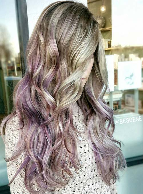 pastel_neon_hair_colors_in_balayage_and_ombre_blonde_purple_hair34